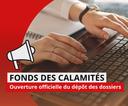 Inondations : aide à l'introduction de votre dossier au Fonds des Calamités
